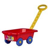 Dětský vozík Vlečka BAYO 45 cm červený
