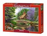 Puzzle 1000 Dom nad rzeką CASTOR