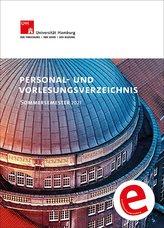Personal- und Vorlesungsverzeichnis der Universität Hamburg