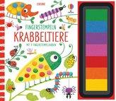 Fingerstempeln: Krabbeltiere