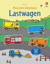 Mein erstes Stickerbuch: Lastwagen