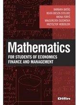 Mathematics for students of economics, finance...