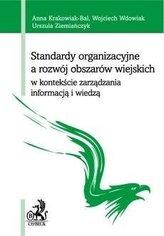 Standardy organizacyjne a rozwój obszarów...