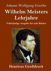 Wilhelm Meisters Lehrjahre (Großdruck)