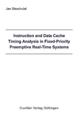 Instruction and Data Cache Timing Analysis in Fixed-Priority Preemptive Real-Time Systems