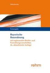 Bayerische Bauordnung Textausgabe