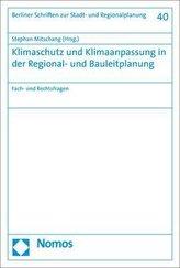 Klimaschutz und Klimaanpassung in der Regional- und Bauleitplanung