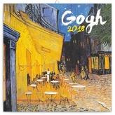 Vincent van Gog   - nástěnný kalendář 2018