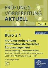 Büro 2.1 - Prüfungsvorbereitung aktuell Kaufmann / Kauffrau für Büromanagement