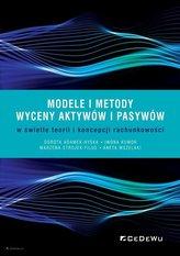 Modele i metody wyceny aktywów i pasywów..