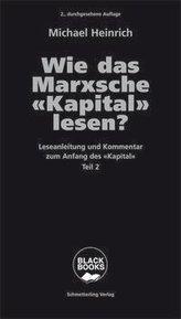Wie das Marxsche Kapital lesen? Bd. 2
