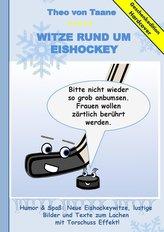 Geschenkausgabe Hardcover: Humor & Spaß - Neue Witze rund um Eishockey, lustige Bilder und Texte zum Lachen mit Torschuss Effekt