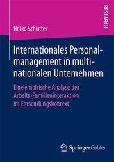 Internationales Personalmanagement in multinationalen Unternehmen