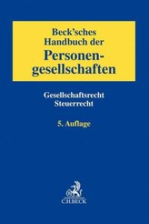 Beck\'sches Handbuch der Personengesellschaften