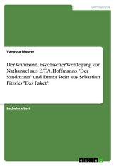 """Der Wahnsinn. Psychischer Werdegang von Nathanael aus E.T.A. Hoffmanns \""""Der Sandmann\"""" und Emma Stein aus Sebastian Fitzeks \""""Das"""