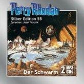 Perry Rhodan Silber Edition (MP3-CDs) 55: Der Schwarm
