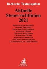 Aktuelle Steuerrichtlinien 2021