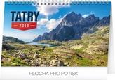 Tatry - stolový kalendár 2018