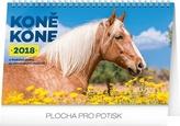 Koně/ Kone - stolní kalendář 2018