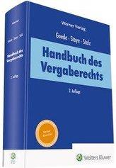 Handbuch des Vergaberechts