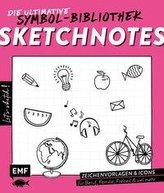 Let\'s sketch! Sketchnotes - Die ultimative Symbol-Bibliothek