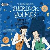 Sherlock Holmes T.10 Trzej studenci audiobook