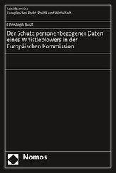 Der Schutz personenbezogener Daten eines Whistleblowers in der Europäischen Kommission