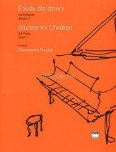 Etiudy dla dzieci na fortepian 1 PWM