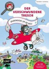 Agatha Crispie und der verschwundene Schatz - Spurensuche um die Welt: Band 2