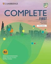 Complete First B2 Workbook with answers with Audio, 3rd