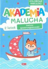 Akademia Malucha. 2-latek ćwiczy spostrzegawczość