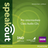 Speakout Pre-Intermediate 2nd Edition Class CDs (2)