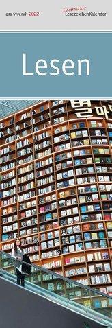 Lesezeichenkalender Lesen 2022