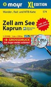 Zell am See, Kaprun XL 1:25 000