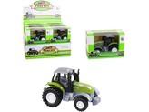 Traktor, zpětný chod, kovový, 9 cm