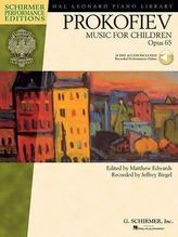 Music for Children, Op. 65: Edited by Matthew Edwards Recorded by Jeffrey Biegel