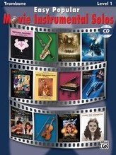 Easy Popular Movie Instrumental Solos: Trombone, Book & Online Audio/Software [With CD]