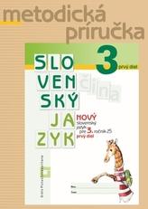 NOVÝ Slovenský jazyk pre 3. ročník ZŠ - 1. časť - Metodická príručka
