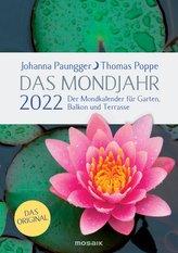 Das Mondjahr 2022. Garten-Spiralkalender