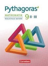 Pythagoras 9. Jahrgangsstufe (WPF II/III) - Realschule Bayern - Schülerbuch