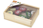 Dřevěné krájení - zelenina