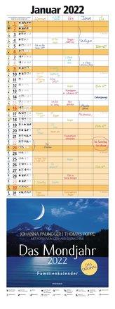 Das Mondjahr 2022 Familienkalender
