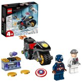 LEGO Super Heroes 76189 Captain America vs. Hydra