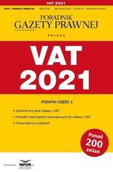 VAT 2021. Podatki cz.2