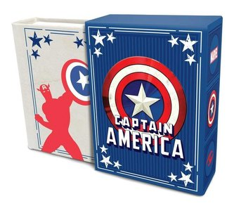 Marvel Comics: Captain America (Tiny Book): Inspirational Quotes from the First Avenger Fits in the Palm of Your Hand Stocking S