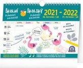 Kalendář 2022 školní plánovací: s háčkem, 30 × 21 cm
