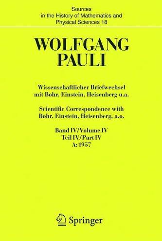 Wissenschaftlicher Briefwechsel mit Bohr, Einstein, Heisenberg u.a. 2 Bände