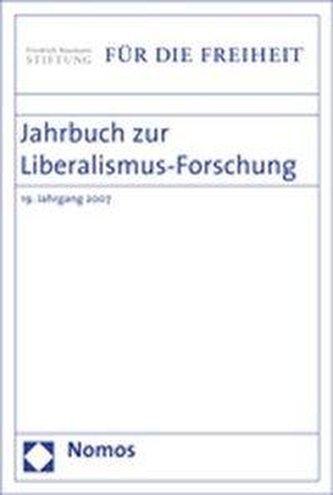 Jahrbuch zur Liberalismus-Forschung 2007