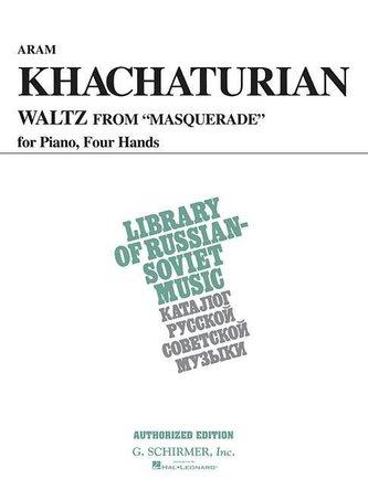 Waltz from Masquerade (Vaap Edition): Piano Duet