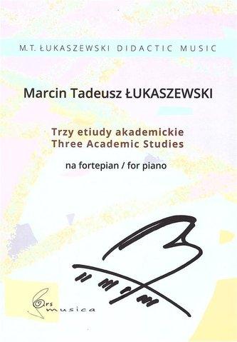 Trzy etiudy akademickie na fortepian